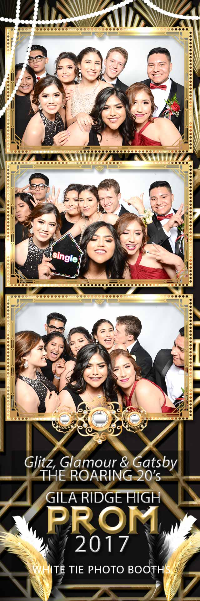 Gila Ridge High School Prom Photo Booth At AZWestern College